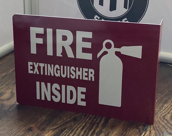 FIRE Extinguisher Inside Projection -FIRE Extinguisher Inside   Aluminium, Singange