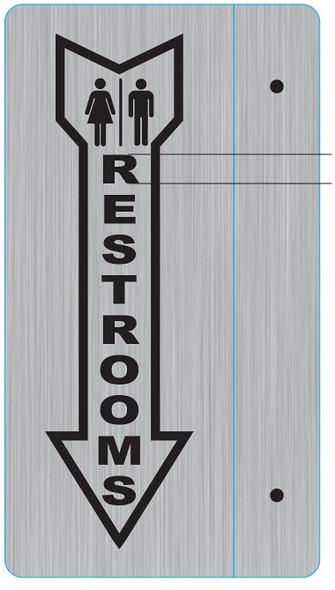 Unisex Restroom  Projection - Unisex Restroom  Restroom 3D Singange