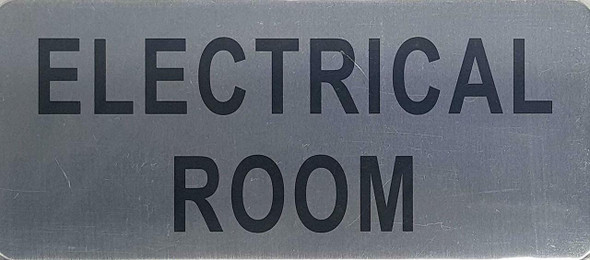 ELECTRICAL ROOM SIGN -The Mont argent line.