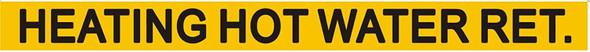 Pipe Marking- STEAM Sign (Sticker Yellow)