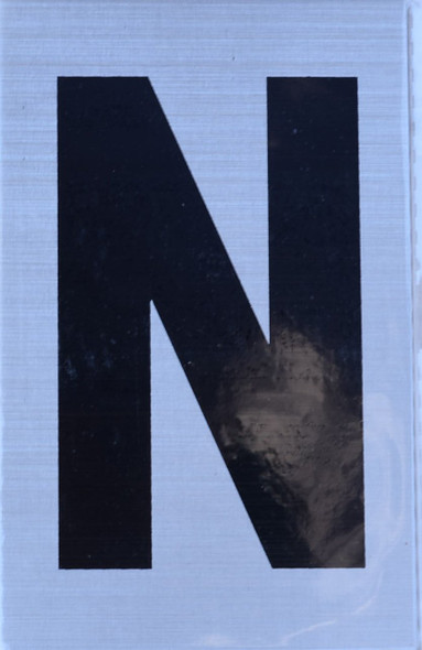 Apartment Number Sign  - Letter N