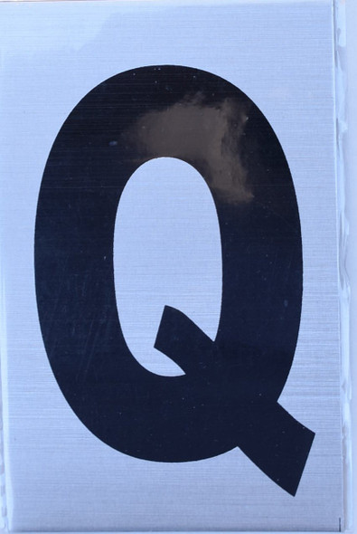 Apartment Number Sign  - Letter Q