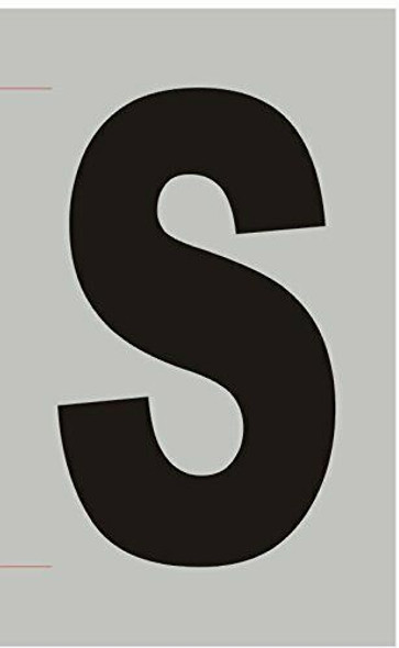 Apartment Number Sign  - Letter S