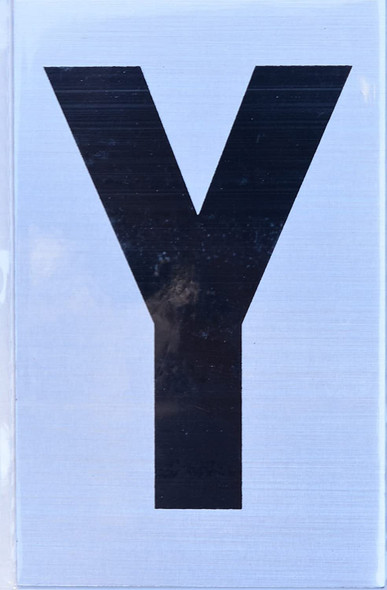 Apartment Number Sign - Letter Y