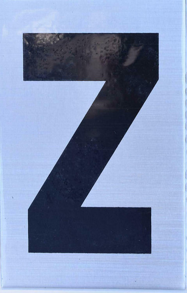 Apartment Number Sign - Letter Z