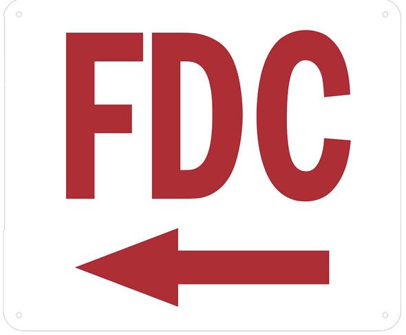 FDC Arrow Left Sign