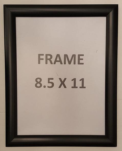 Black Snap Poster Frame/ Picture Frame / notice frame