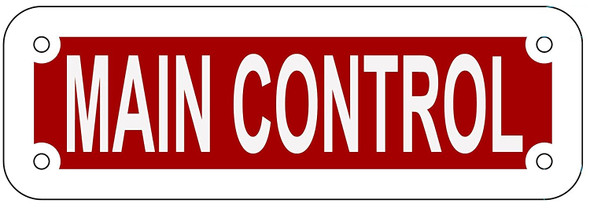 MAIN CONTROL SIGN