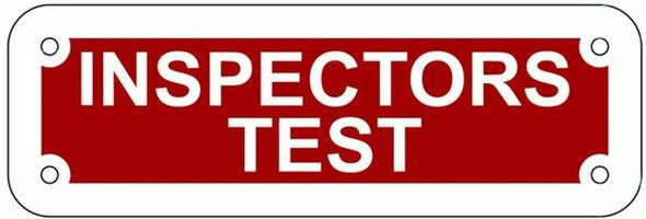 SIGNAGE Inspectors Test