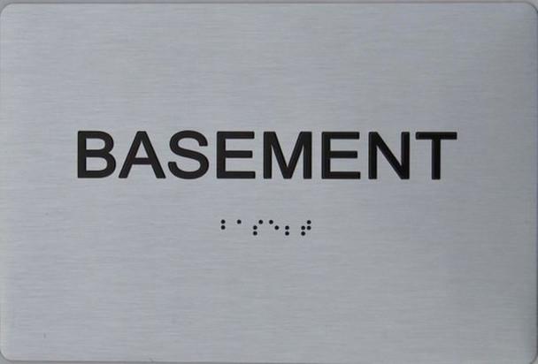 Basement Floor NUMBER SIGN ADA