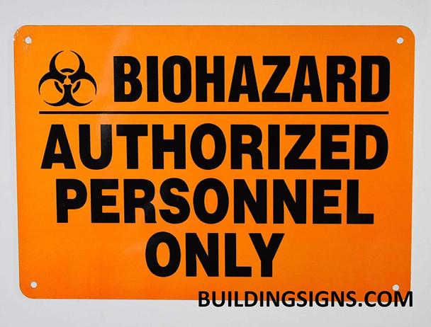 Caution Hazardous Material Signage