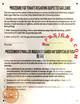 HPD Gas Leak Notice