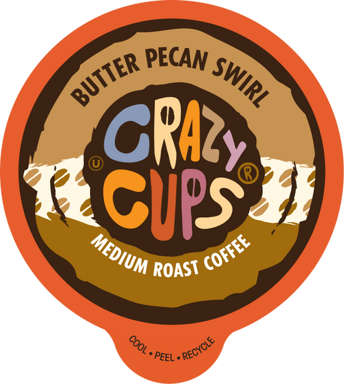 Butter Pecan Swirl by Crazy Cups