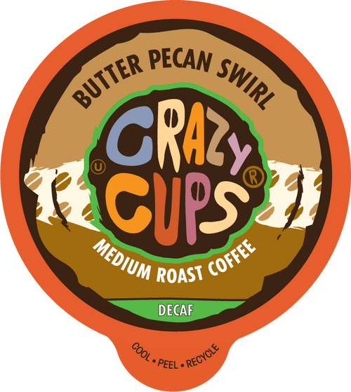 Decaf Butter Pecan Swirl by Crazy Cups