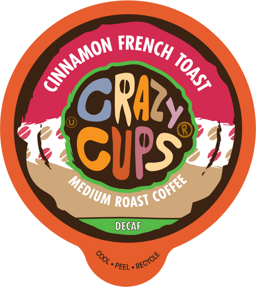 Decaf Cinnamon French Toast by Crazy Cups