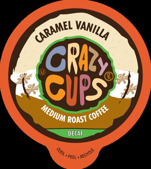 Decaf Caramel Vanilla by Crazy Cups