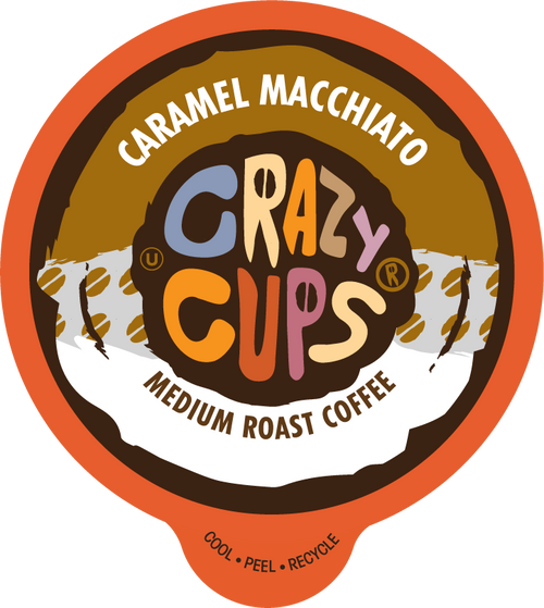Caramel Macchiato Flavored Coffee By Crazy Cups