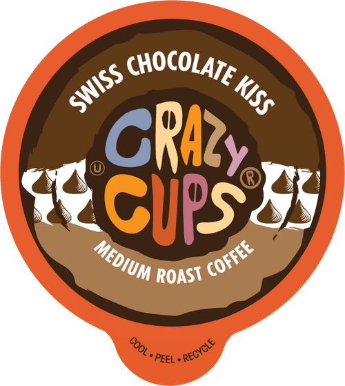 Swiss Chocolate Kiss Flavored Coffee By Crazy Cups