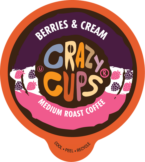 Berries And Cream Flavored Coffee By Crazy Cups