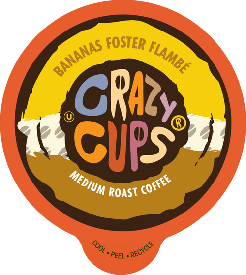 Banana Foster Flambe Flavored Coffee by Crazy Cups