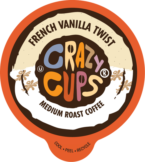 French Vanilla Twist Flavored Coffee by Crazy Cups