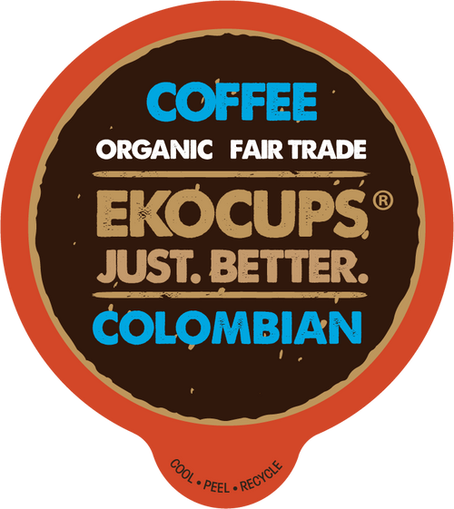 Colombian Organic Coffee by EKOCUPS