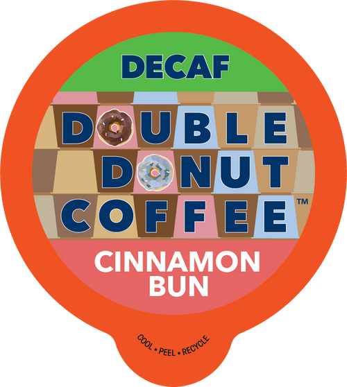 Cinnamon Bun Decaf Flavored Coffee By Double Donut