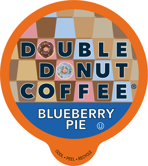 Blueberry Flavored Coffee By Double Donut