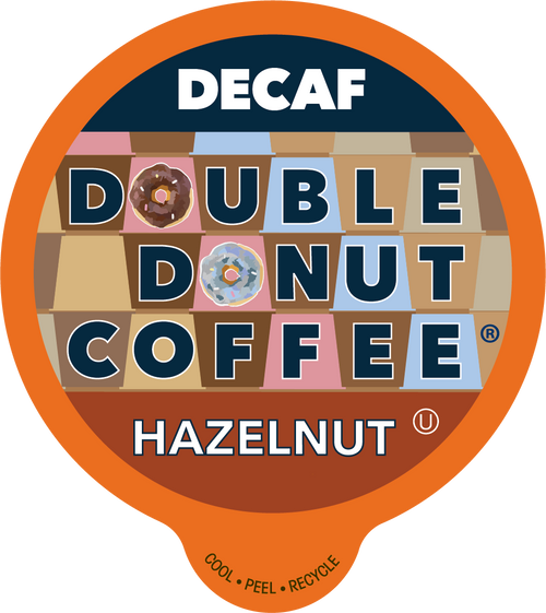 Decaf Hazelnut Flavored Coffee by Double Donut