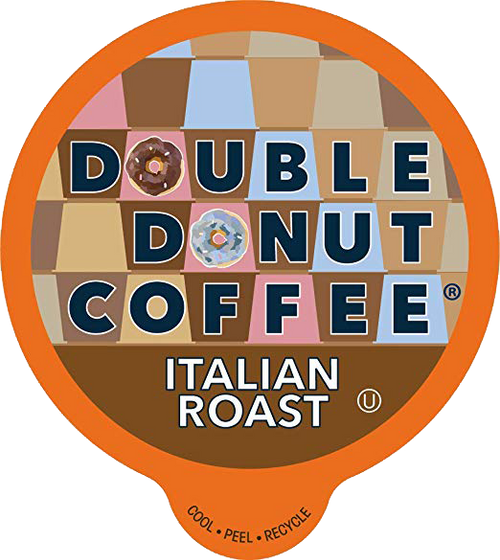 Italian Roast Coffee by Double Donut
