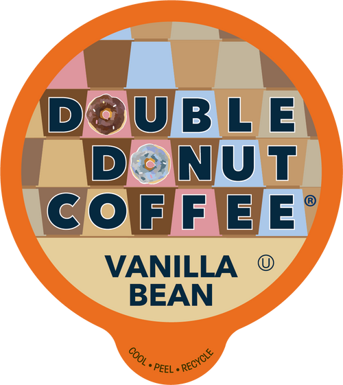 Vanilla Bean Flavored Coffee by Double Donut