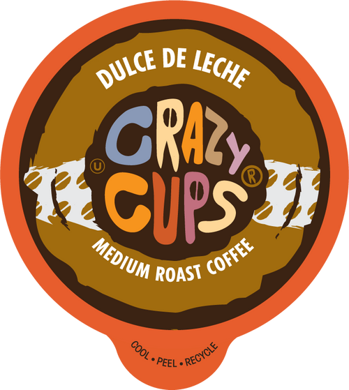 Dulce De Leche Flavored Coffee By Crazy Cups