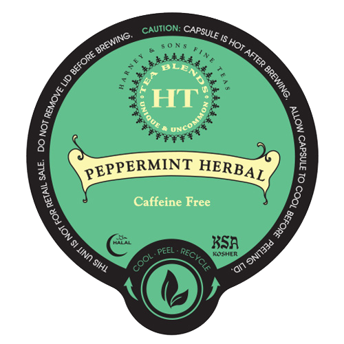 Peppermint Herbal Tea by Harney's & Sons
