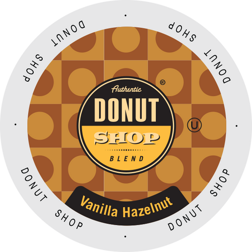 Vanilla Hazelnut Flavored Coffee by Authentic Donut Shop