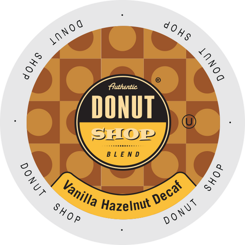 Vanilla Hazelnut Decaf Flavored Coffee by Authentic Donut Shop