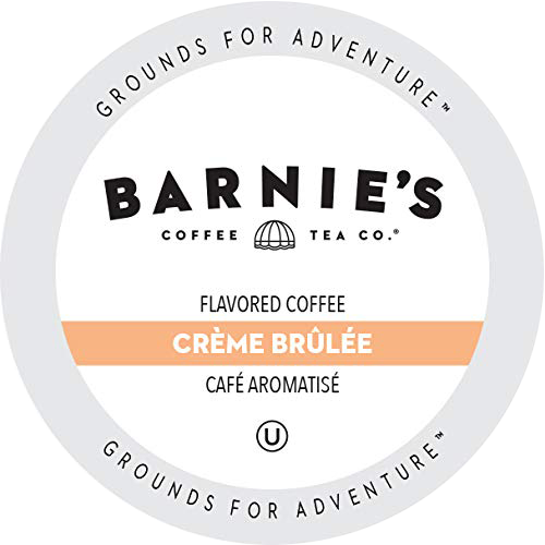Creme Brulee Flavored Coffee from Barnie's