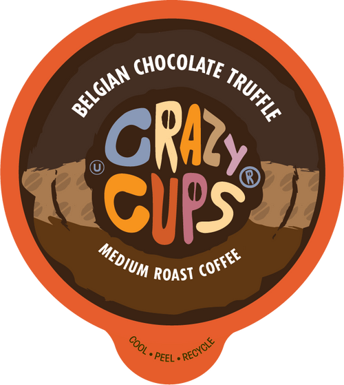 Belgian Chocolate Truffle Naturally Flavored Coffee By Crazy Cups