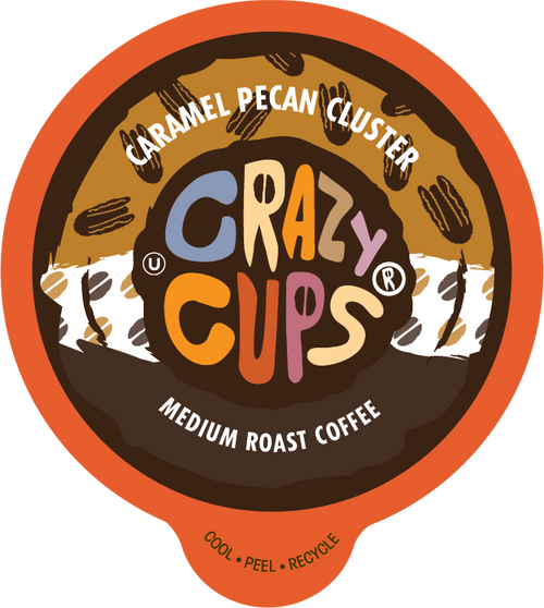 Caramel Pecan Cluster Flavored Coffee by Crazy Cups