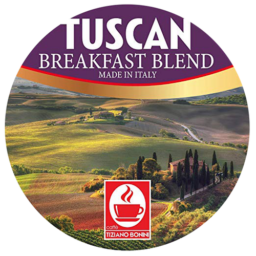 Tuscan Breakfast Blend Coffee by Caffe Bonini