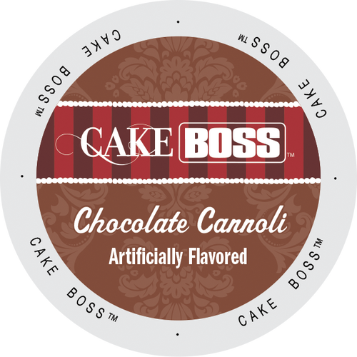 Chocolate Cannoli Flavored Coffee by Cake Boss