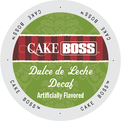 Decaf Dulce de Leche Flavored Coffee by Cake Boss