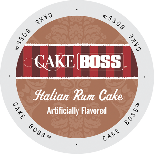 Italian Rum Cake Flavored Coffee by Cake Boss