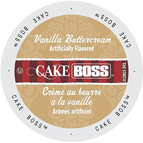 Vanilla Buttercream Flavored Coffee by Cake Boss