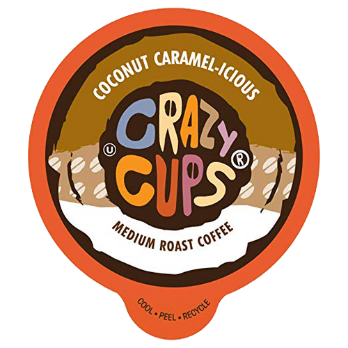 Coconut Caramelicious Flavored Coffee by Crazy Cups