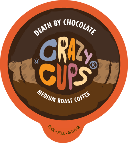 Death By Chocolate Flavored Coffee by Crazy Cups