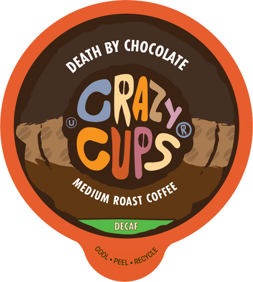 Decaf Death by Chocolate Flavored Coffee by Crazy Cups