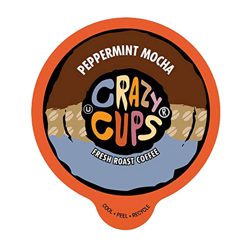 Crazy Cups Peppermint Chocolate Mocha Flavored Coffee by Crazy Cups