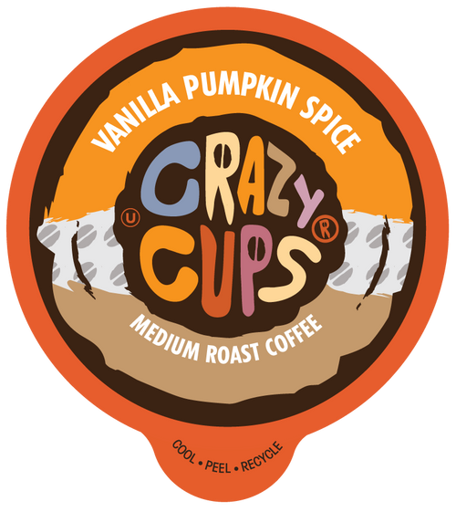 Vanilla Pumpkin Spice Flavored Coffee by Crazy Cups