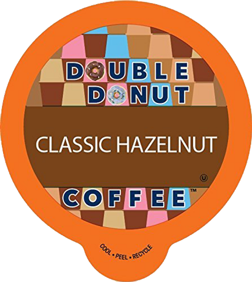 Classic Hazelnut Flavored Coffee by Double Donut