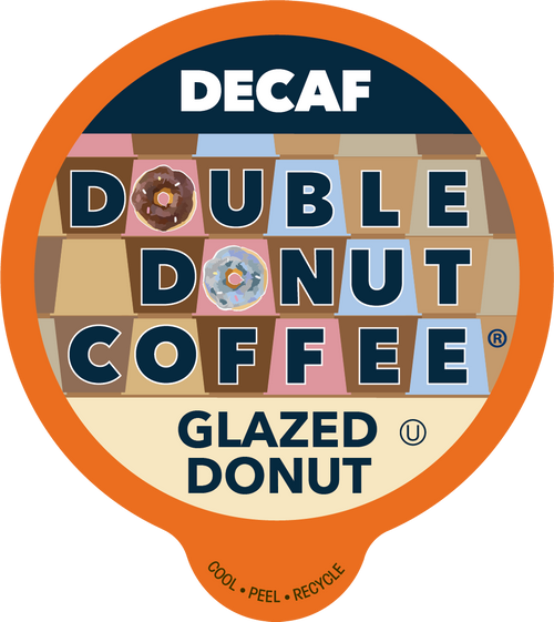 Decaf Glazed Donut Flavored Coffee by Double Donut